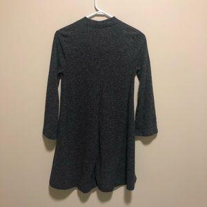 Grey sweater dress, size SP